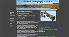 Preview of outdoorphotographygear.co.uk
