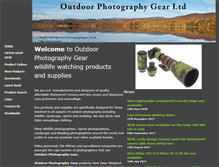 Tablet Preview of outdoorphotographygear.co.uk